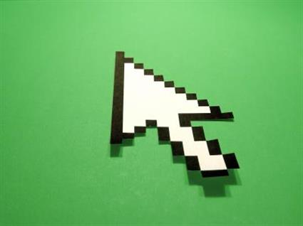 internet mouse cursor digital